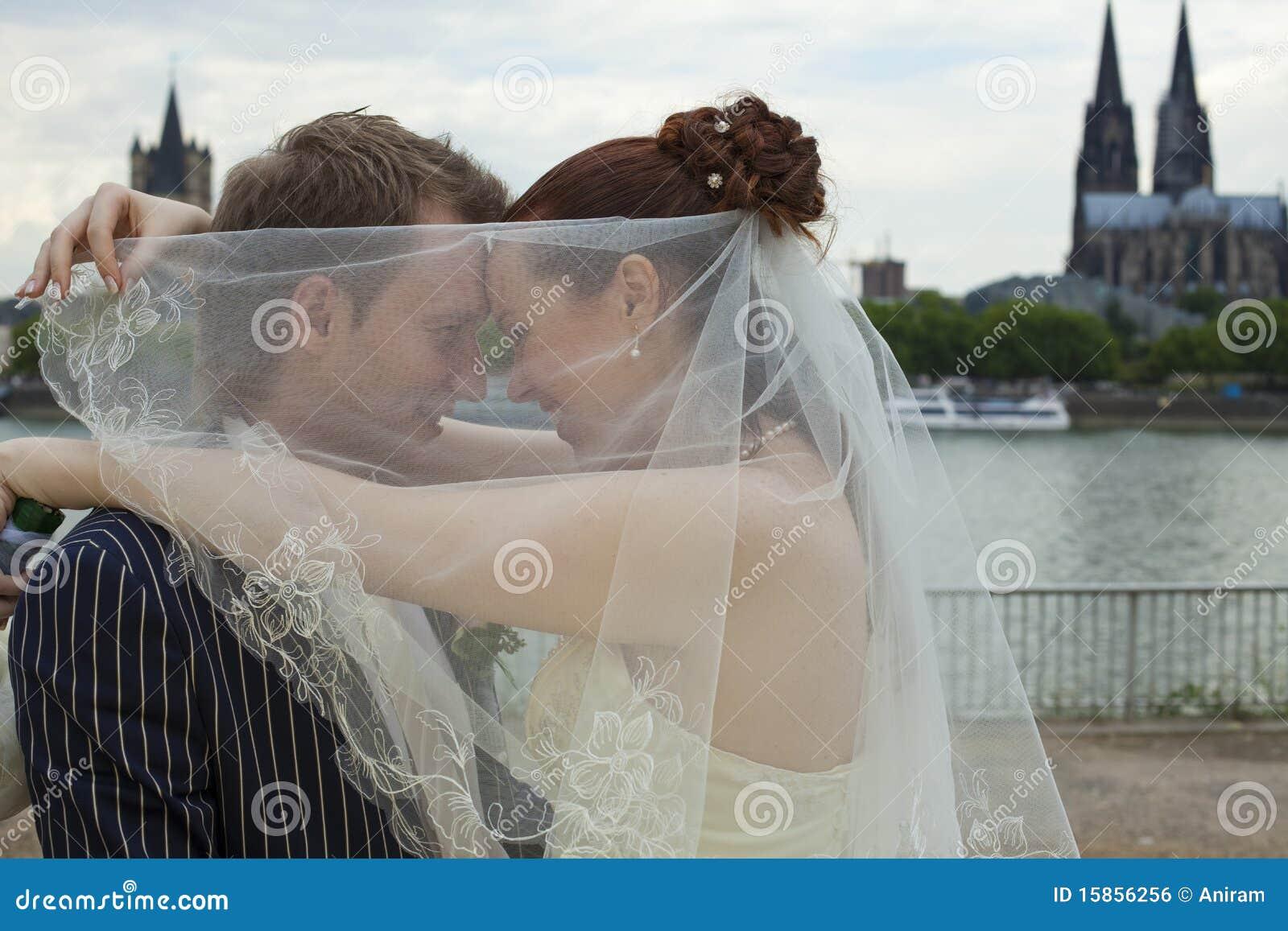Pares de la boda del amor
