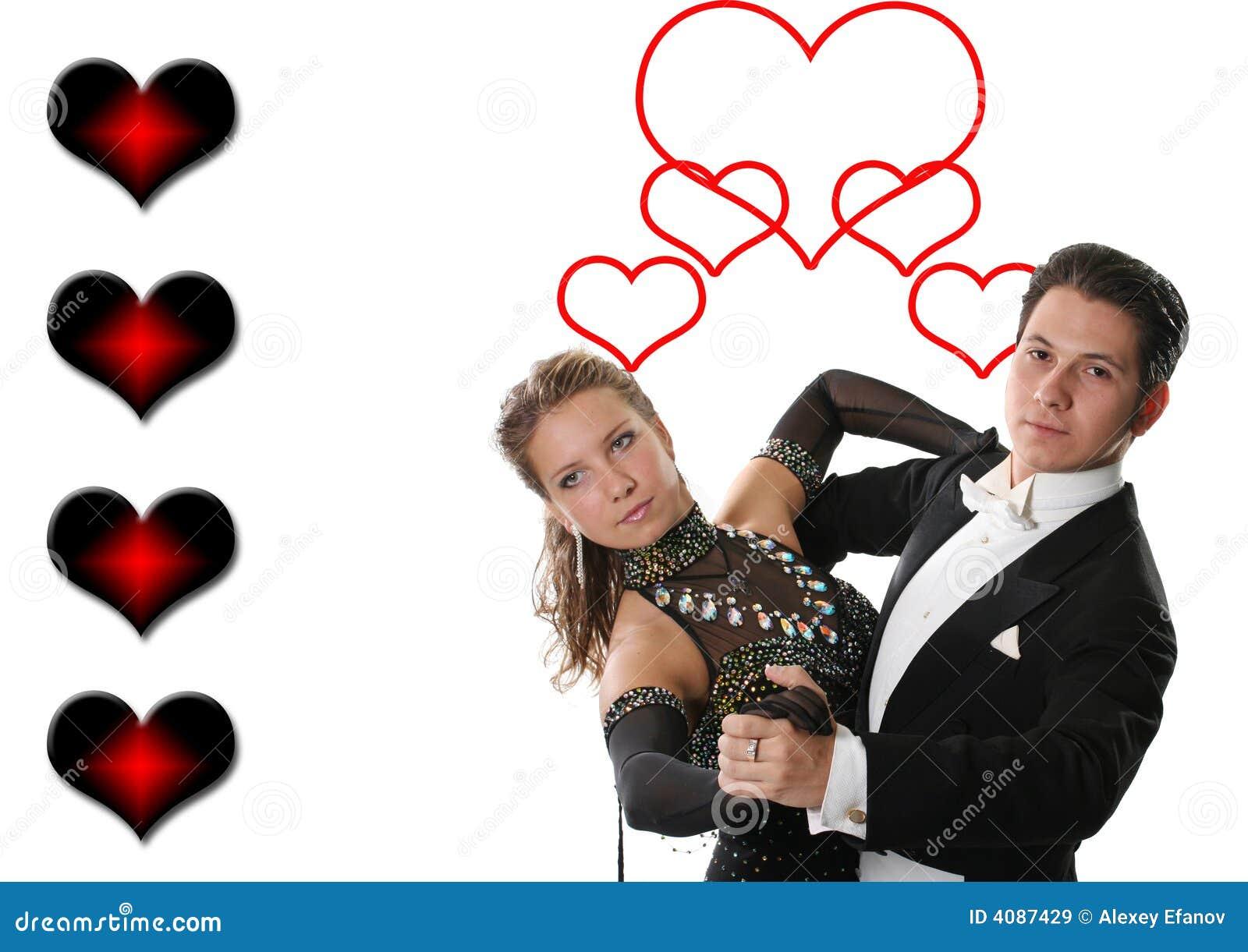 Pares del baile del amor