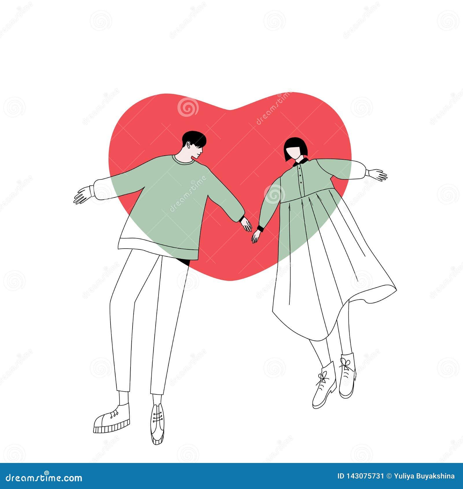 Pares en amor y corazón grande