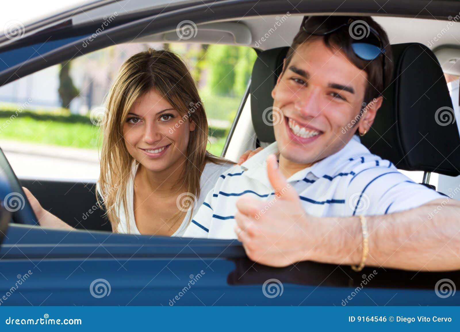 Pares en coche