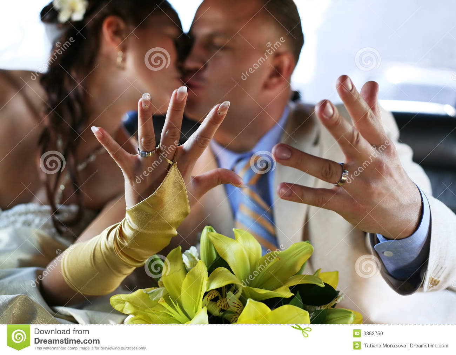 Pares recentemente casados