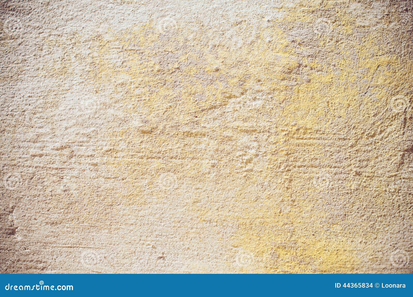Parete beige dello stucco