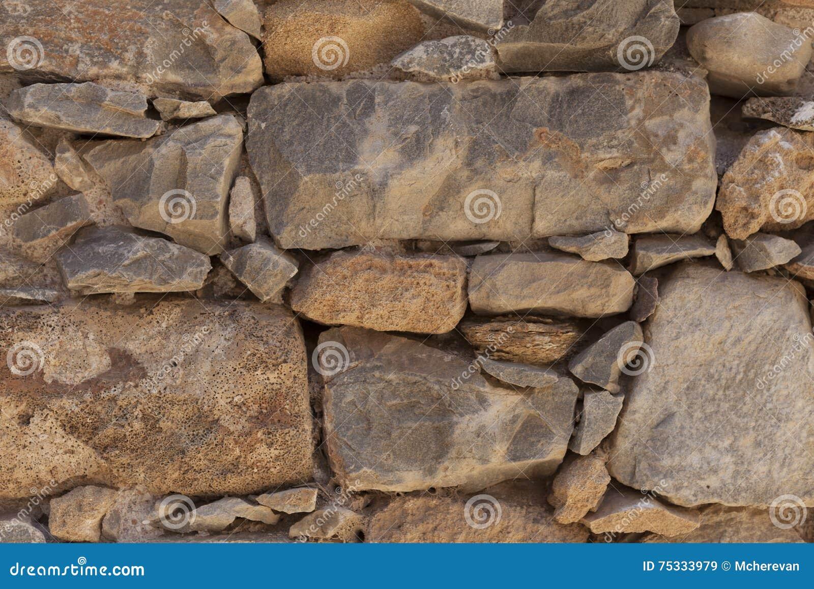 Carta Da Parati Pois Grandi : Parete dal basalto strutturato della grande pietra buon fondo per la