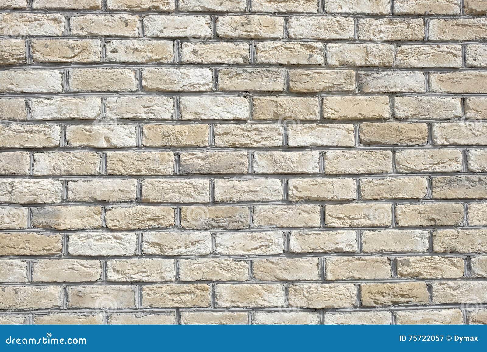 Finest beige foto mattoni orizzontale parete vista with - Parete con mattoni a vista ...