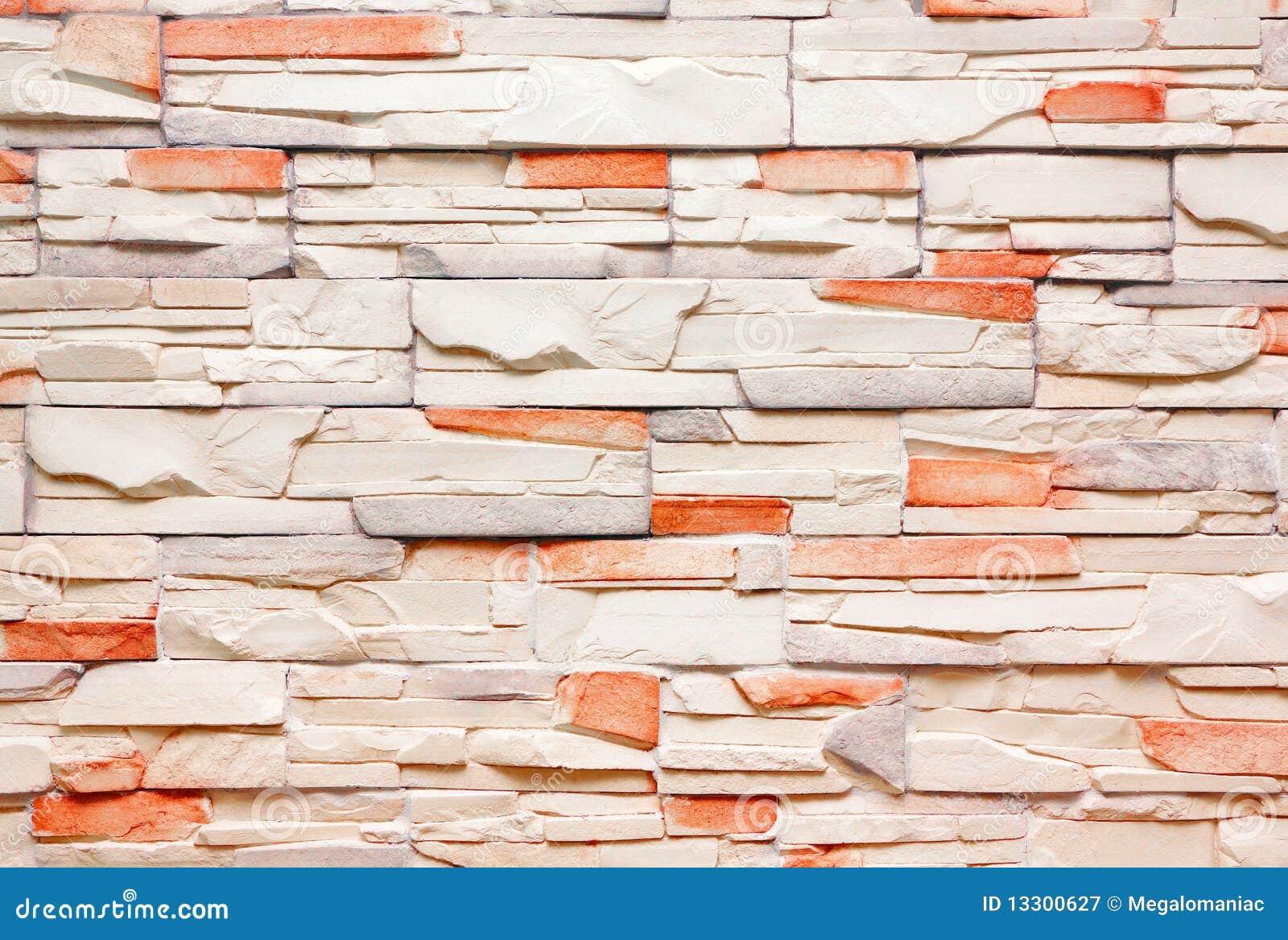 parete decorativa delle mattonelle immagine stock