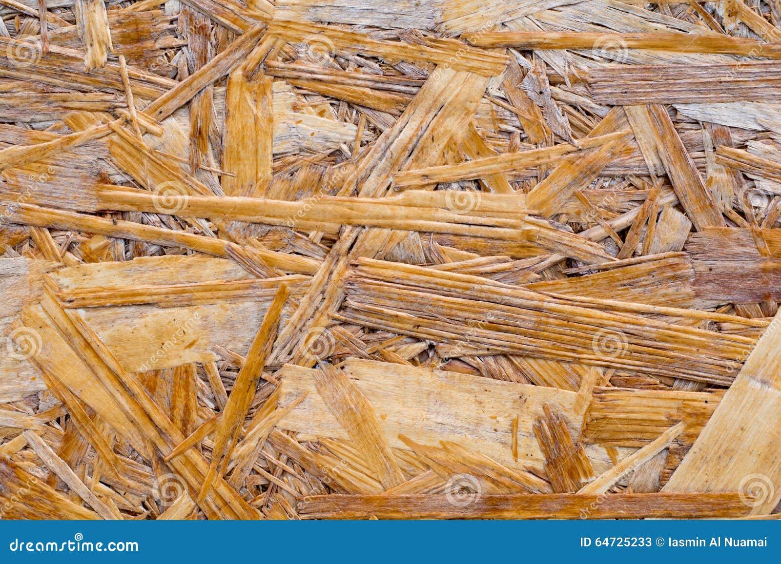 Parete dei fiocchi di legno in pieno di struttura e del modello casuale