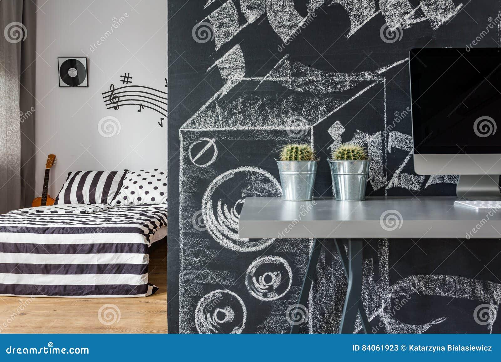 Pareti Di Lavagna : Idee per la cameretta muri lavagna per i piccoli artisti
