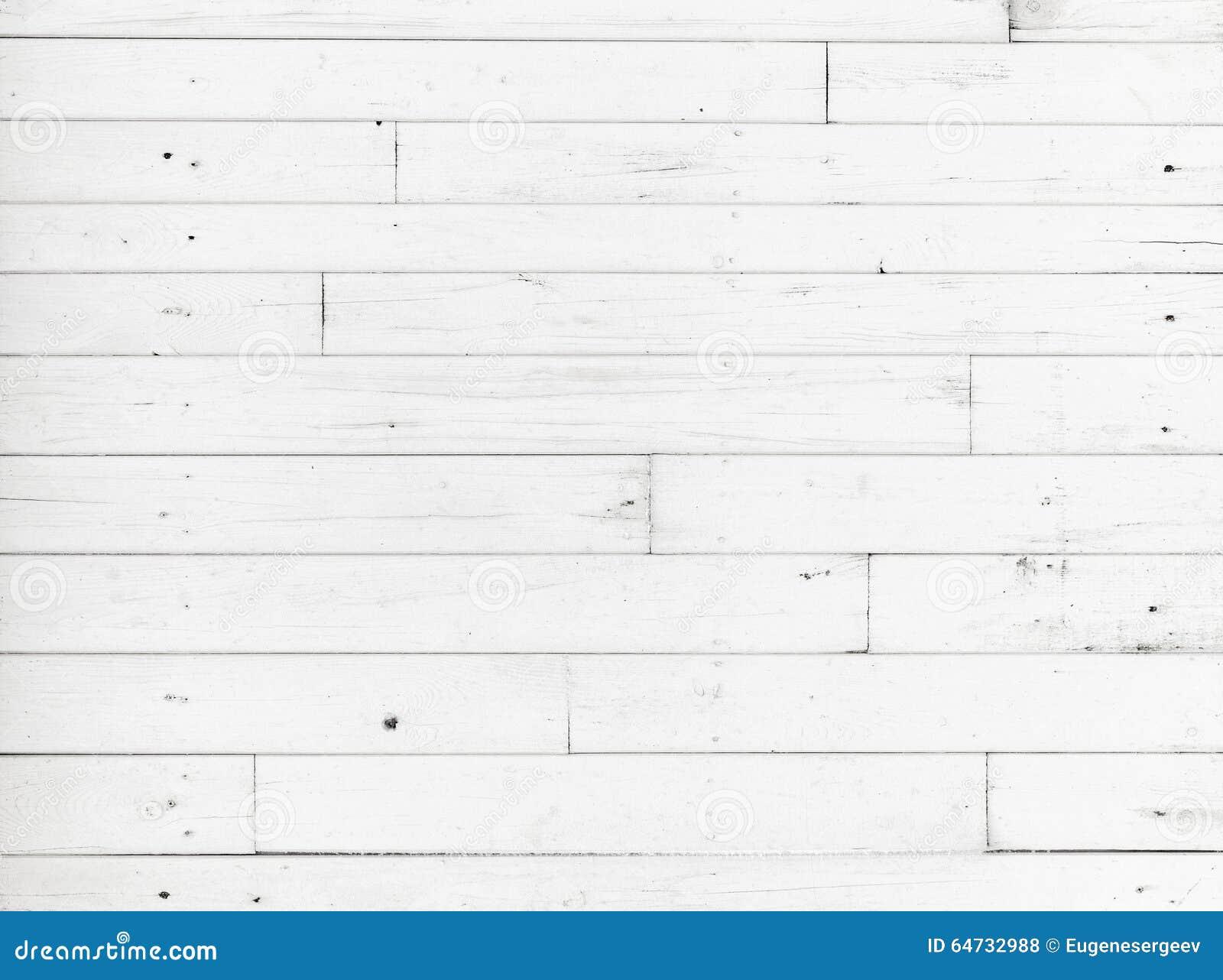 Parete di legno bianca, struttura dettagliata del fondo