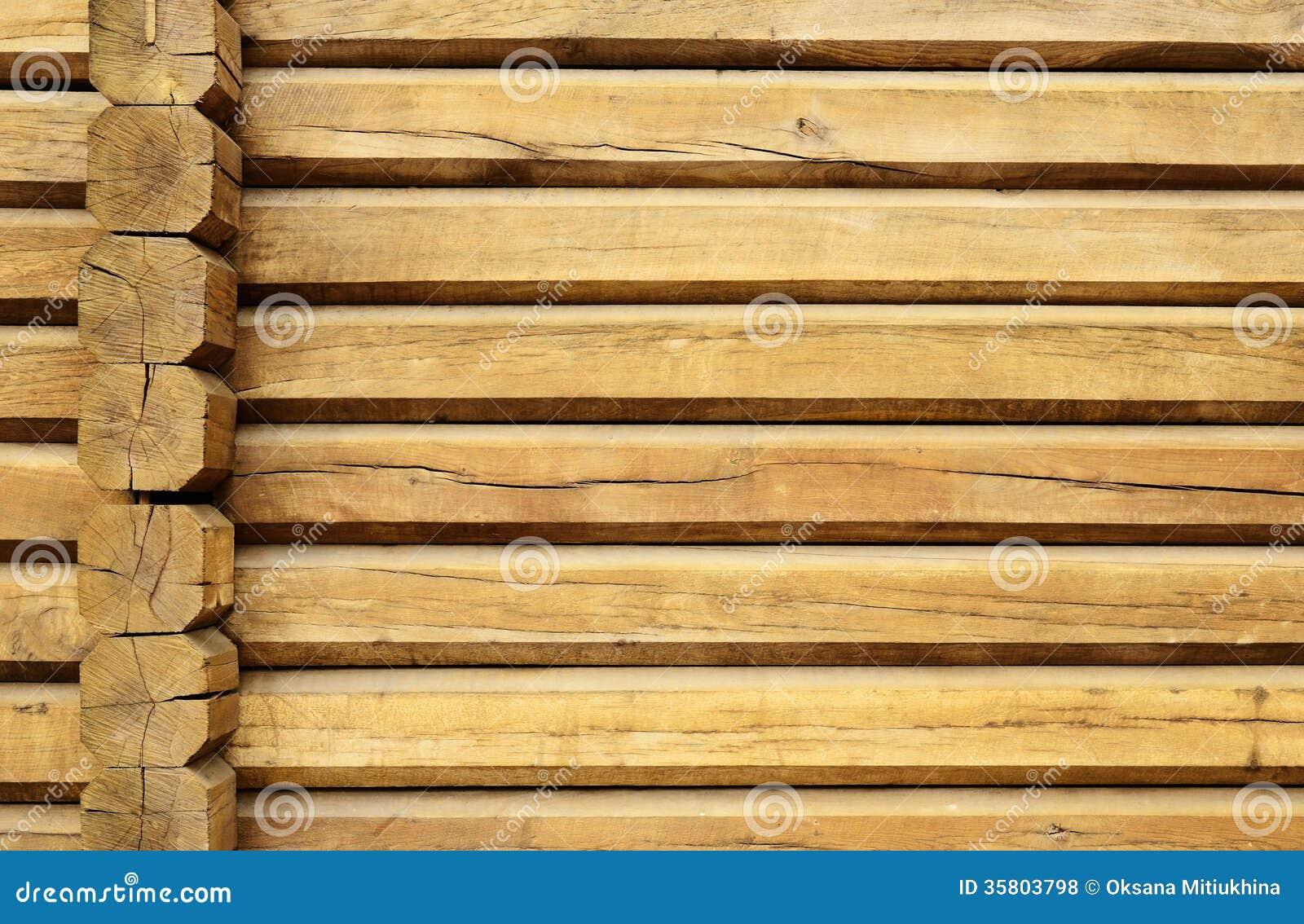 Parete di legno di un loghouse fotografia stock immagine - Parete di legno ...