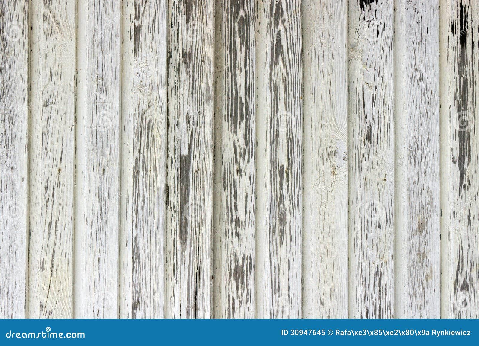 Parete di legno dipinta vecchio bianco immagine stock - Parete di legno ...