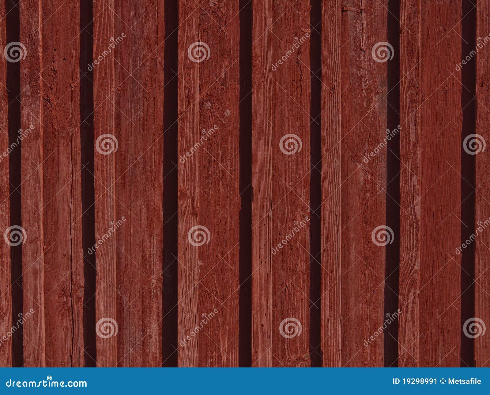 Parete di legno rossa immagine stock immagine di - Parete di legno ...