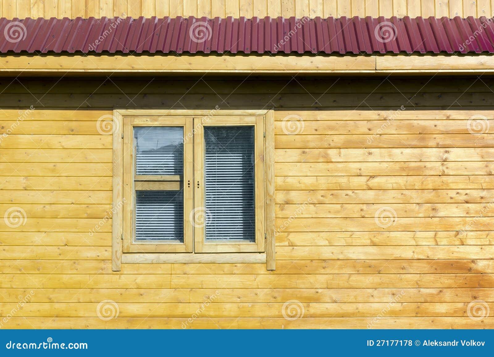Parete Di Legno Rustica Rurale Della Casa Fotografia Stock - Immagine: 27177178