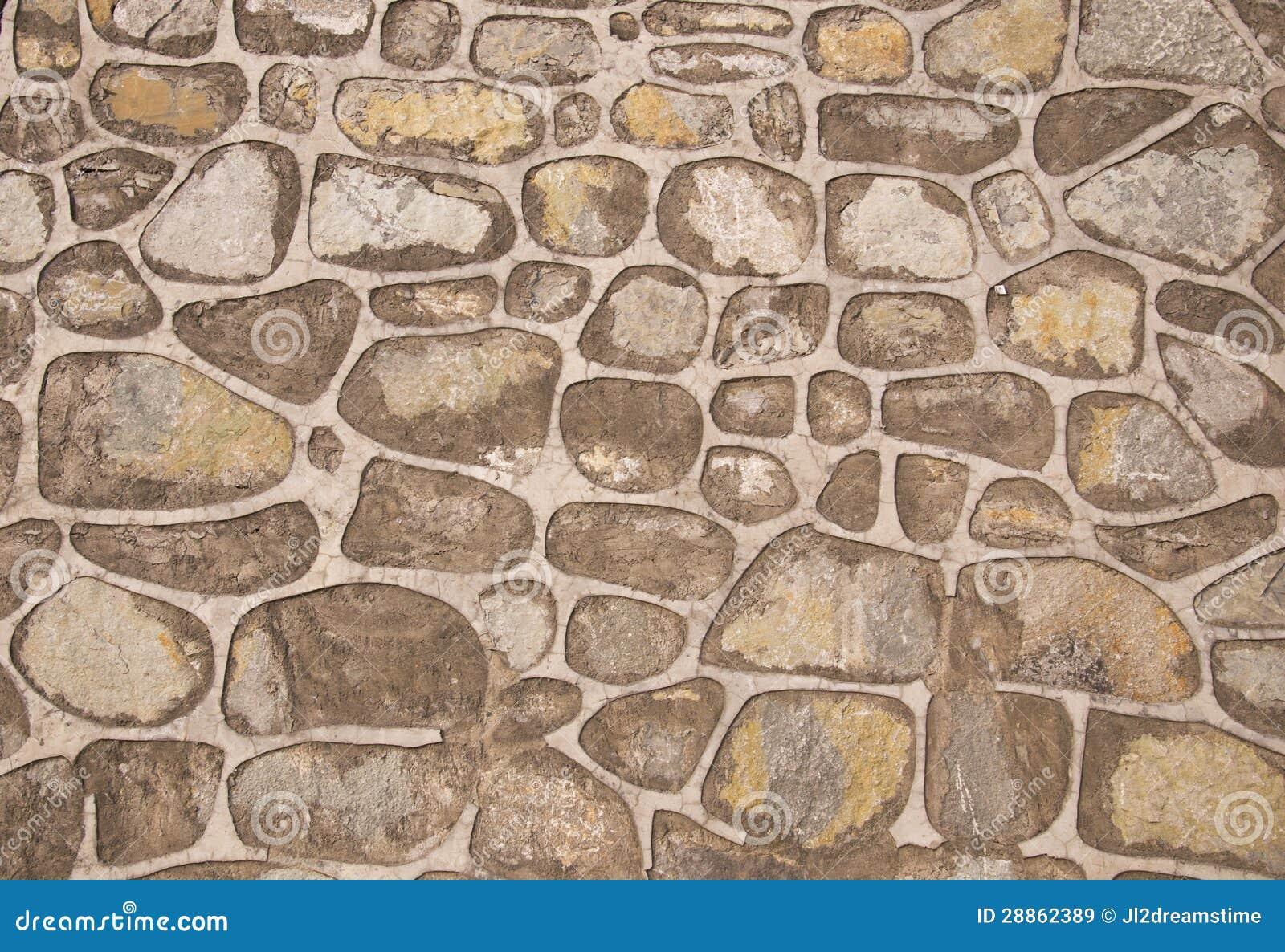 Parete di pietra immagine stock immagine di mattone - Parete di pietra ...