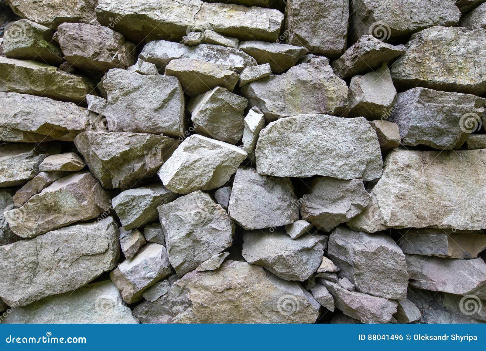 Parete di pietra fotografia stock immagine 88041496 - Parete di pietra ...