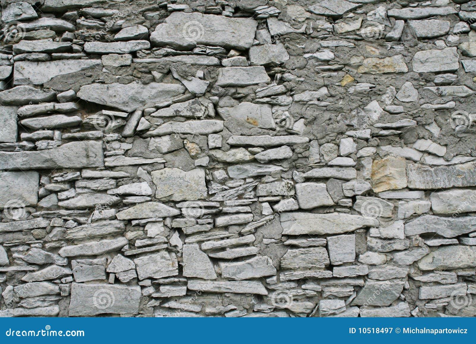 Parete di pietra bianca immagine stock immagine di - Parete di pietra ...