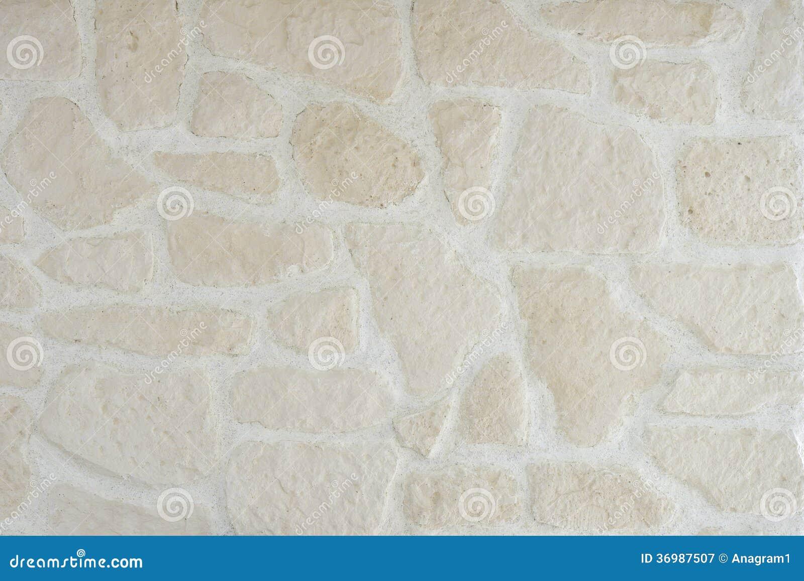 Parete di pietra bianca immagine stock immagine di copia for Parete pietra