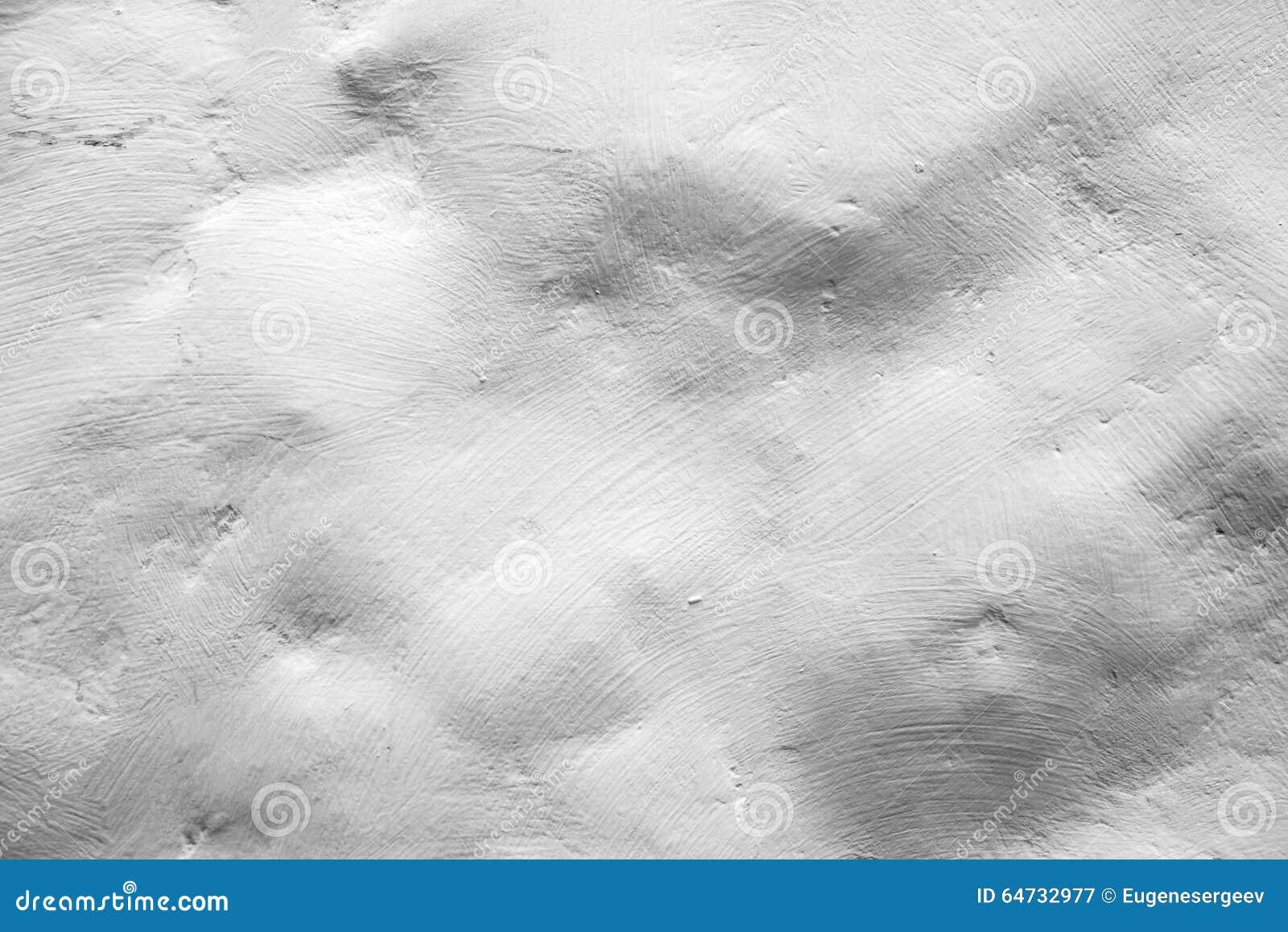 Parete di pietra bianca ruvida, struttura del fondo del primo piano