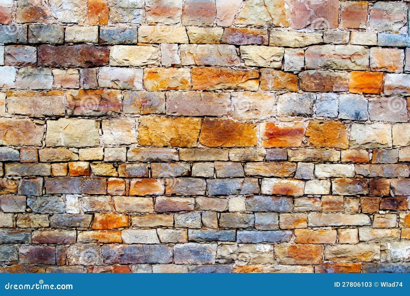 Parete di pietra multicolore immagine stock immagine di - Parete di pietra ...
