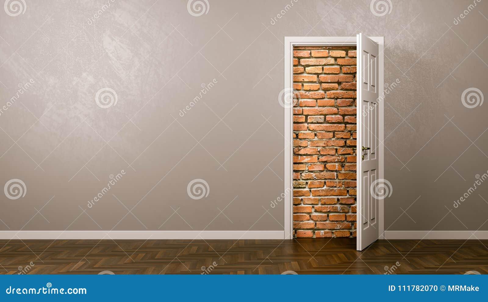 Parete dietro la porta