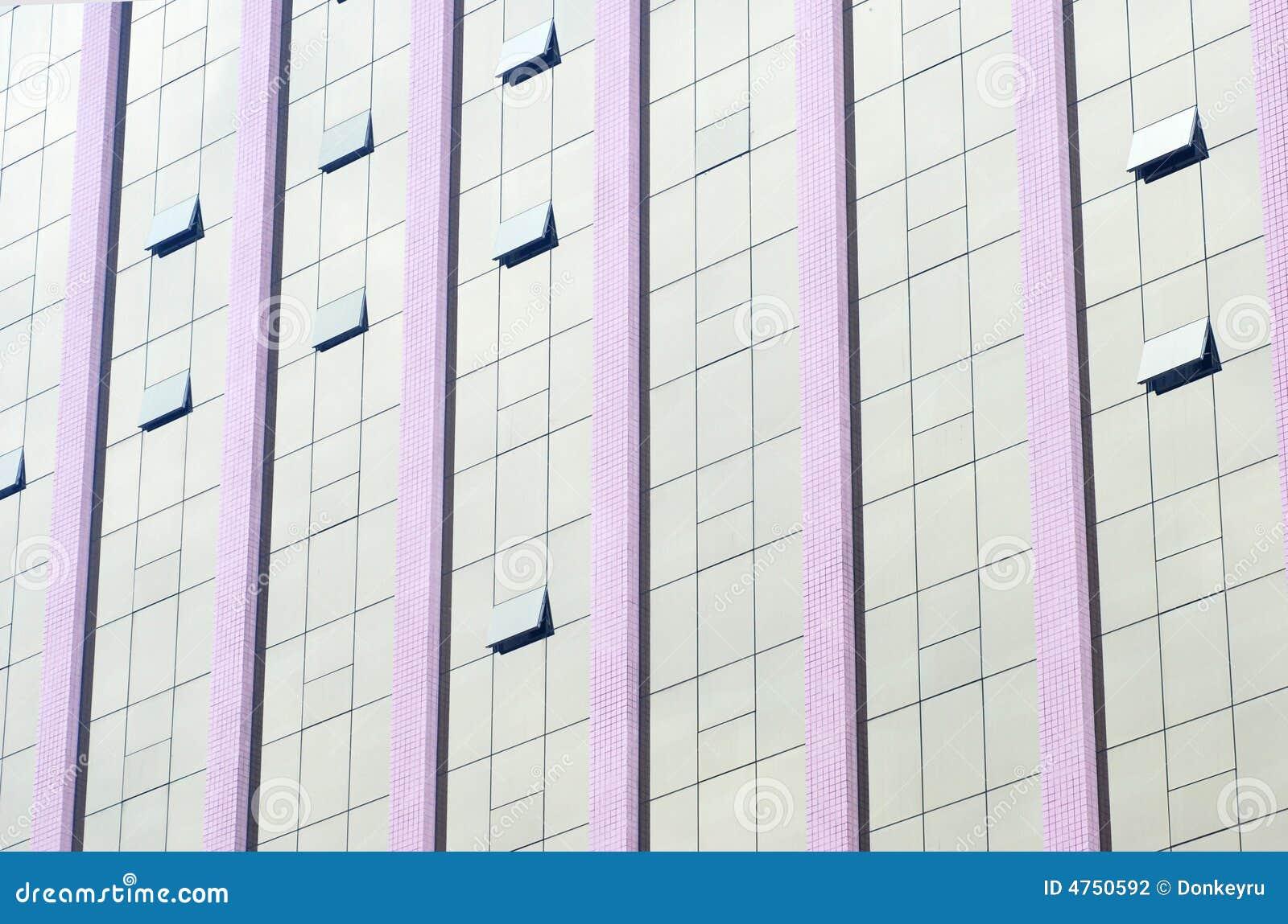 Parete Divisoria Di Vetro Fotografia Stock - Immagine: 4750592