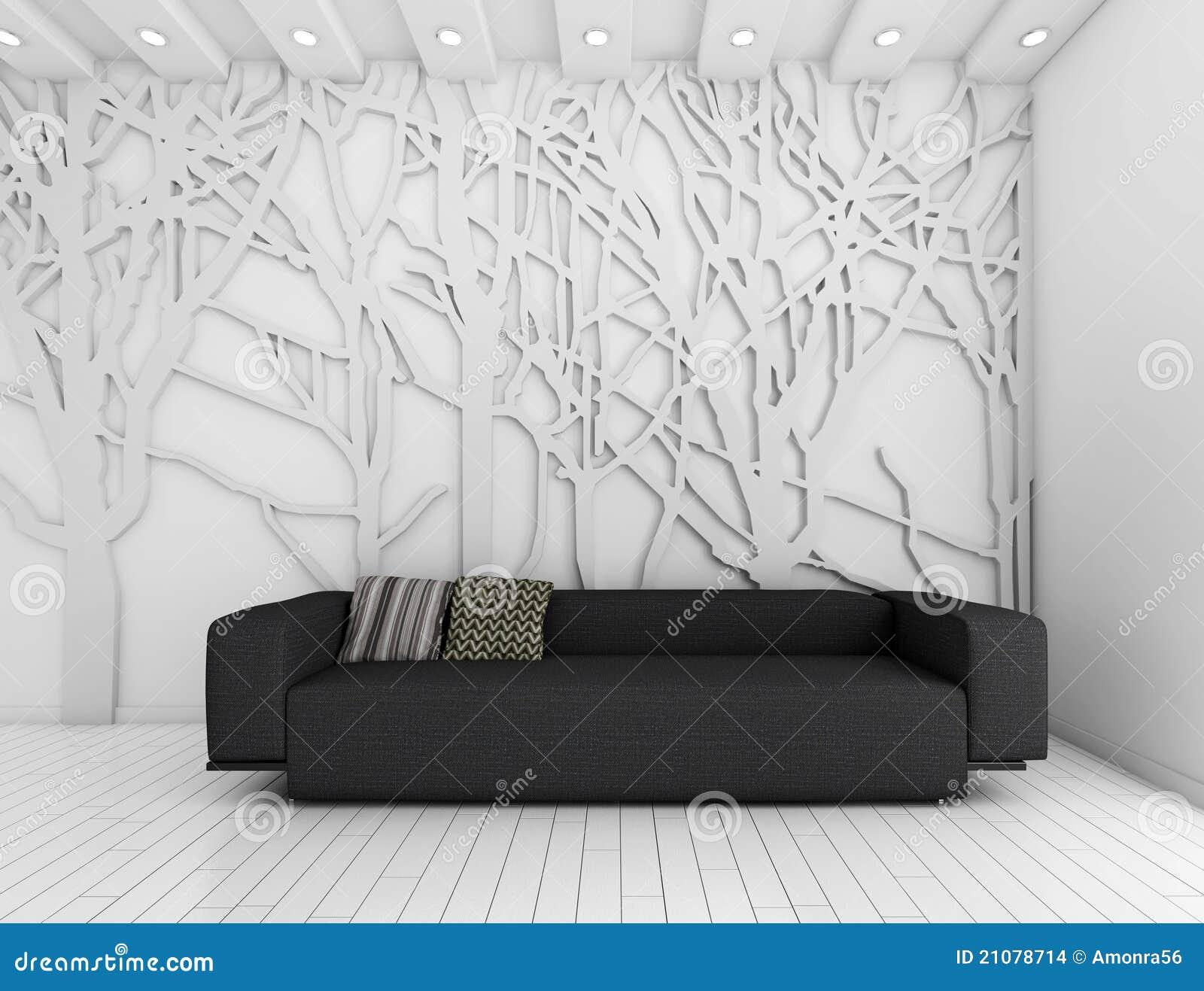 Parete e decorazione interne del briciolo immagini stock - Lds pannelli decorativi ...