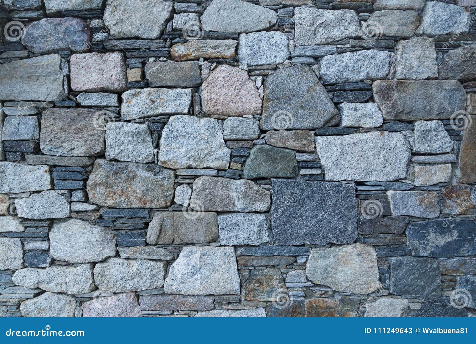Parete fatta dalle vecchie pietre