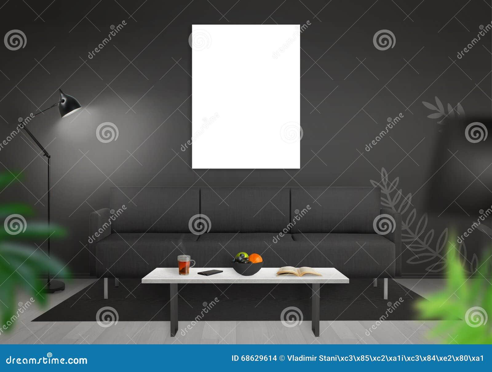 Pareti In Tela : Parete tela bianco nero galleria tela stanza parete nero