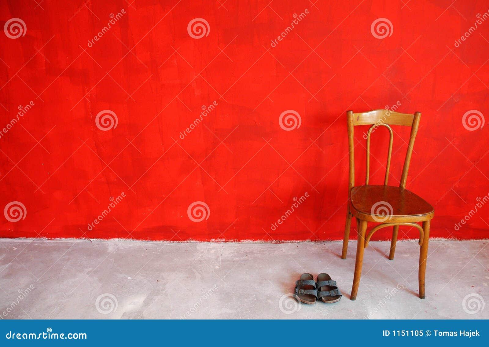 Parete Rossa Fotografia Stock Libera da Diritti - Immagine: 1151105