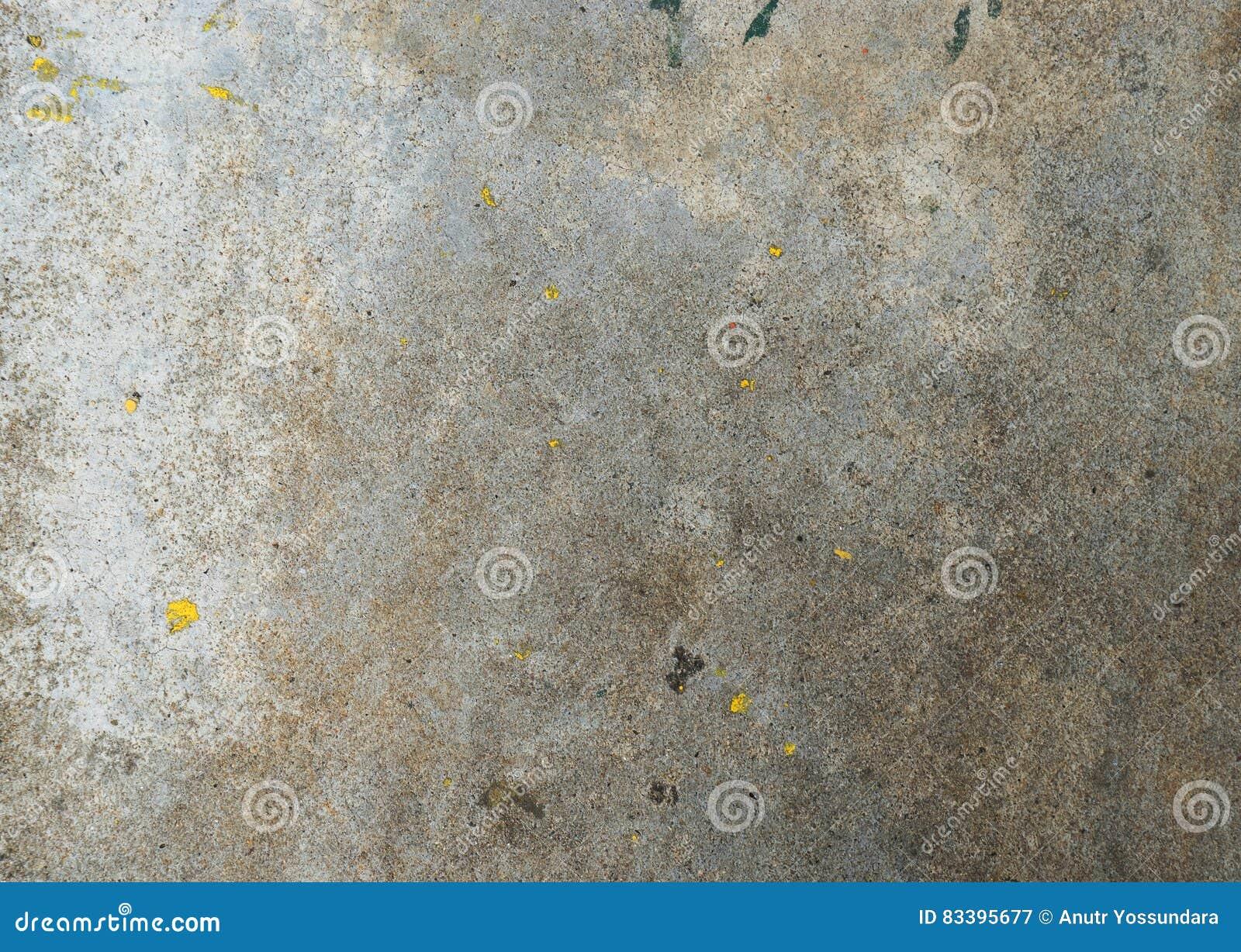 Pittura Per Cemento : Parete rustica dura del cemento con struttura sporca della pittura