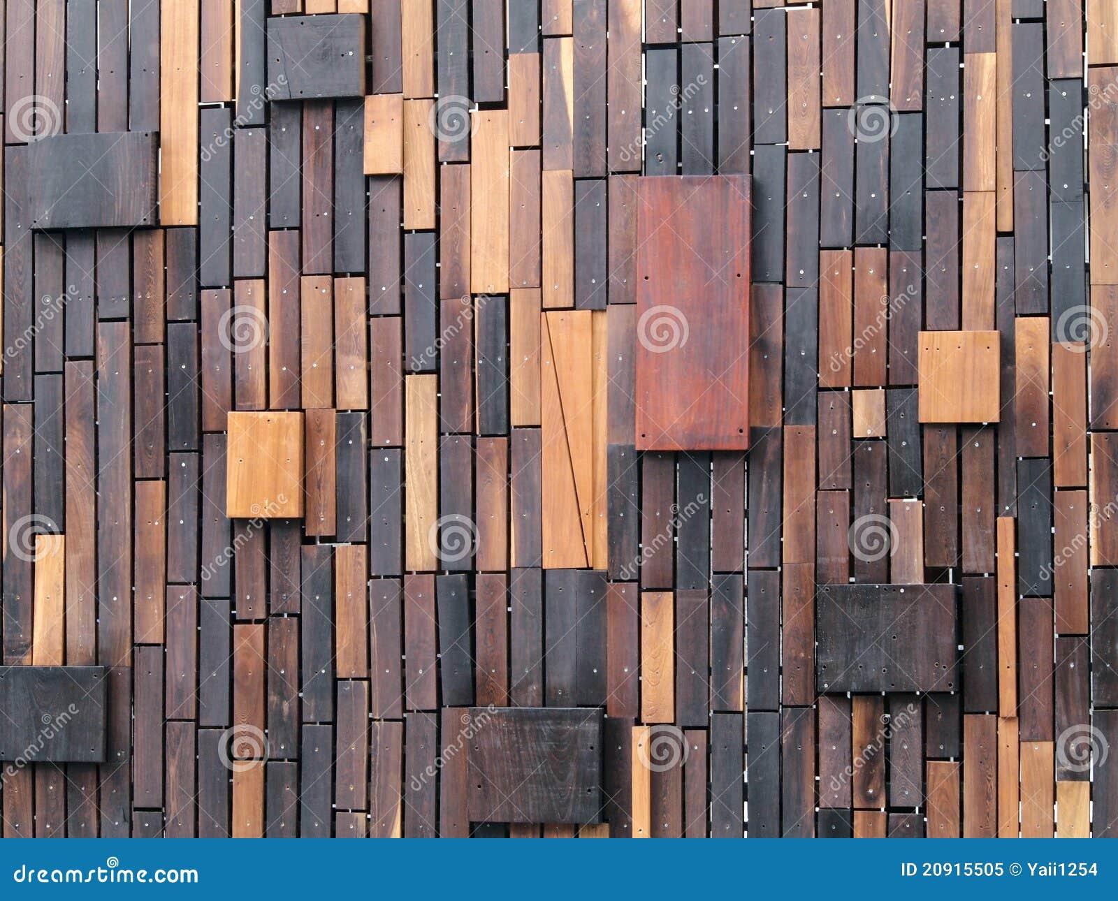 Pareti di legno immagine stock immagine di vuoto colonna for Planchas de madera para paredes