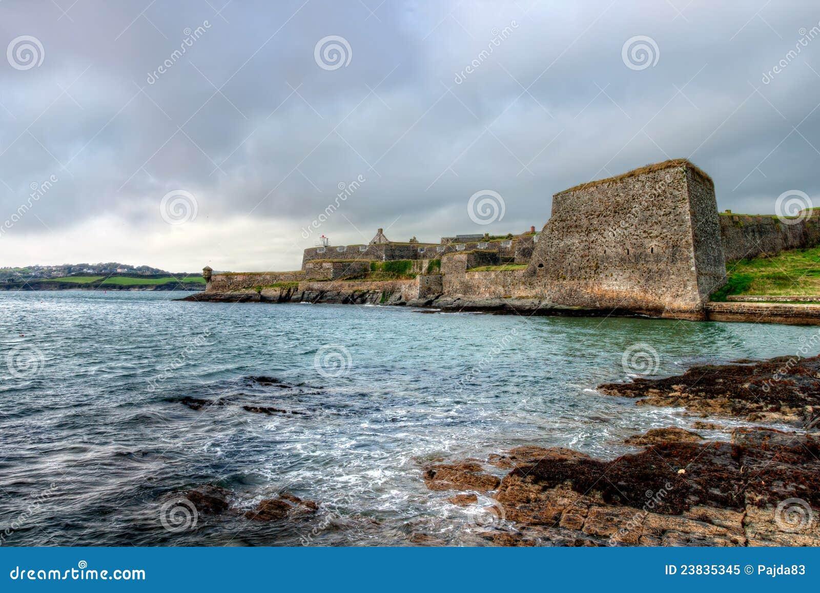 Pareti e bastioni di Charles Fort.Kinsale-Ireland