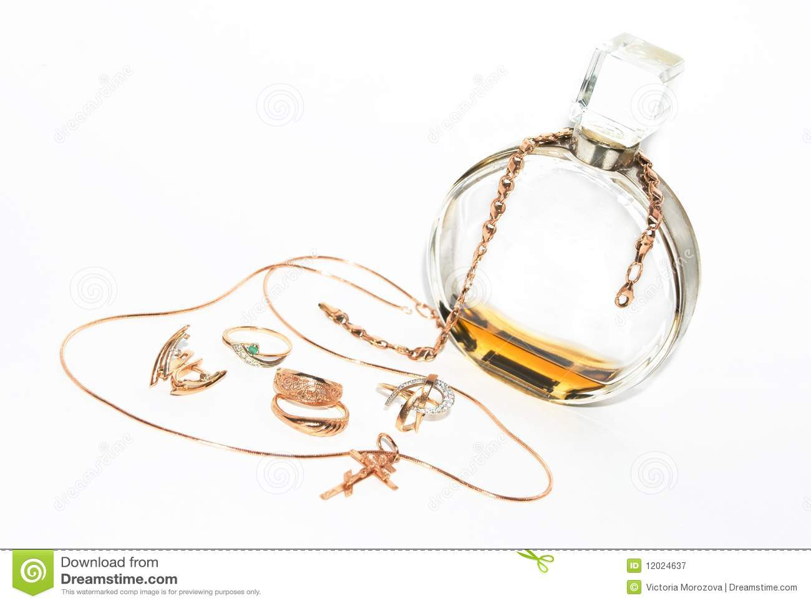 Parfum et bijou
