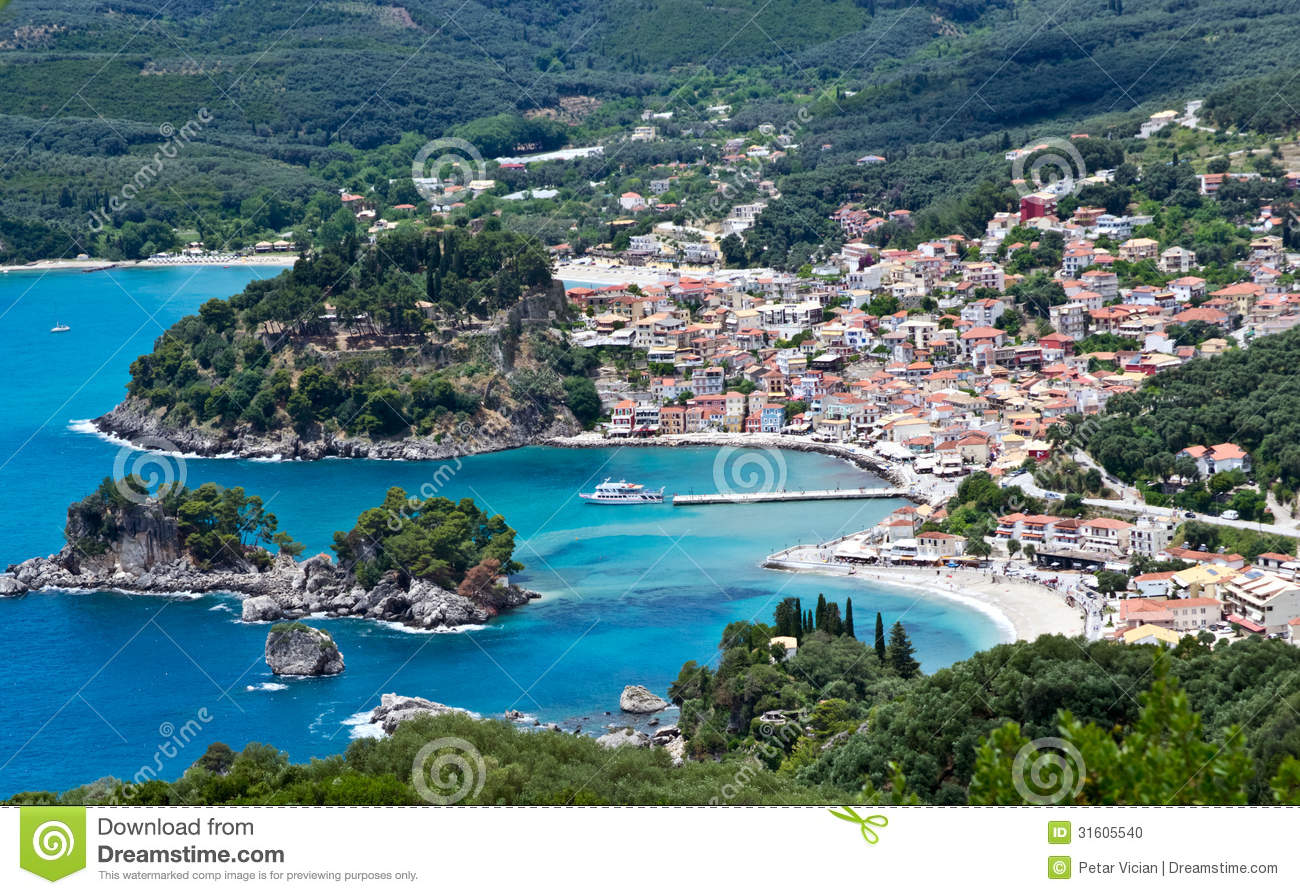 Parga Greece Stock Photo - Image: 31605540