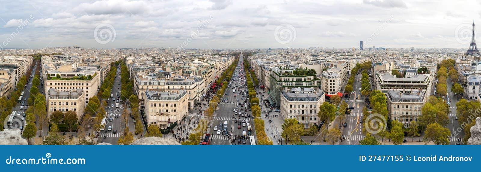Parigi dal Arc de Triomphe