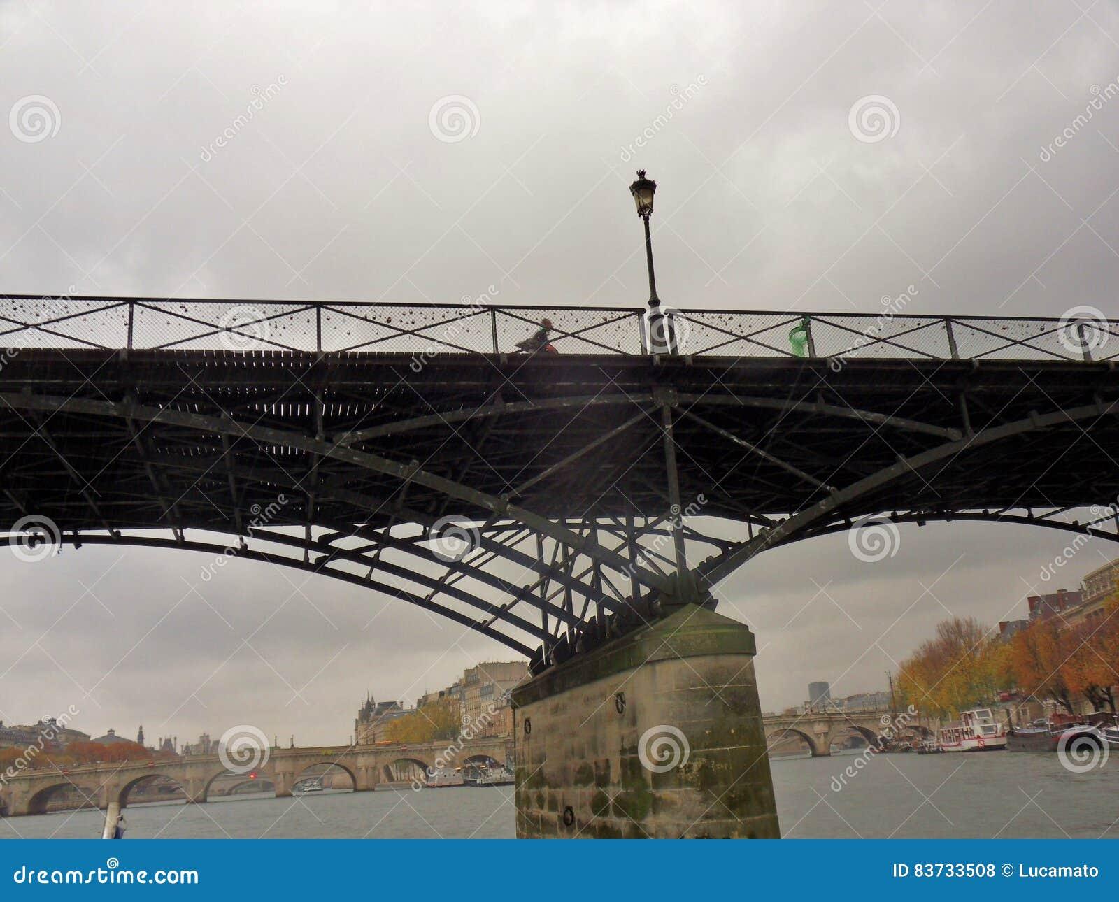 Parigi - Pont des Arts dalla Senna