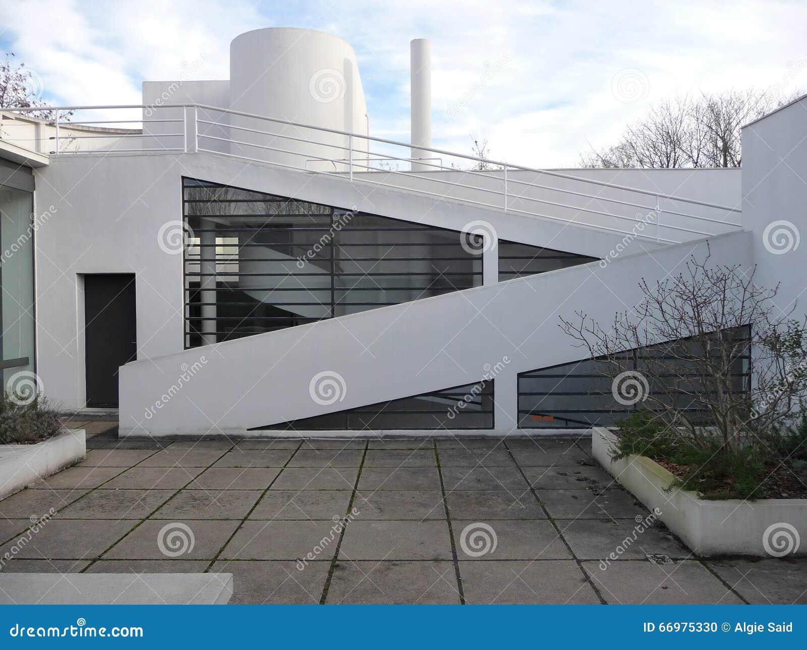 Parigi - villa Savoye (patio del tetto)
