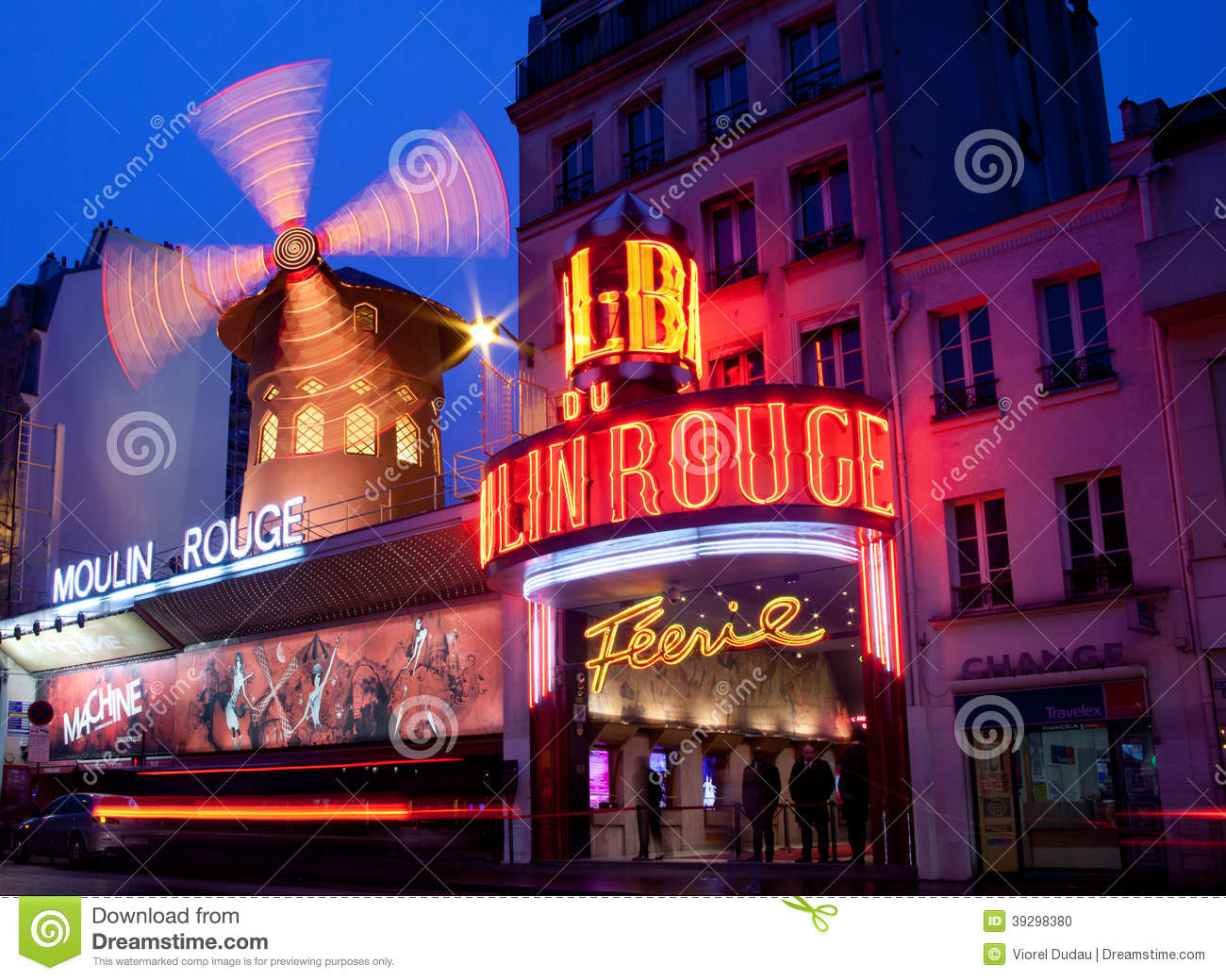 Parijs, Moulin-Rouge