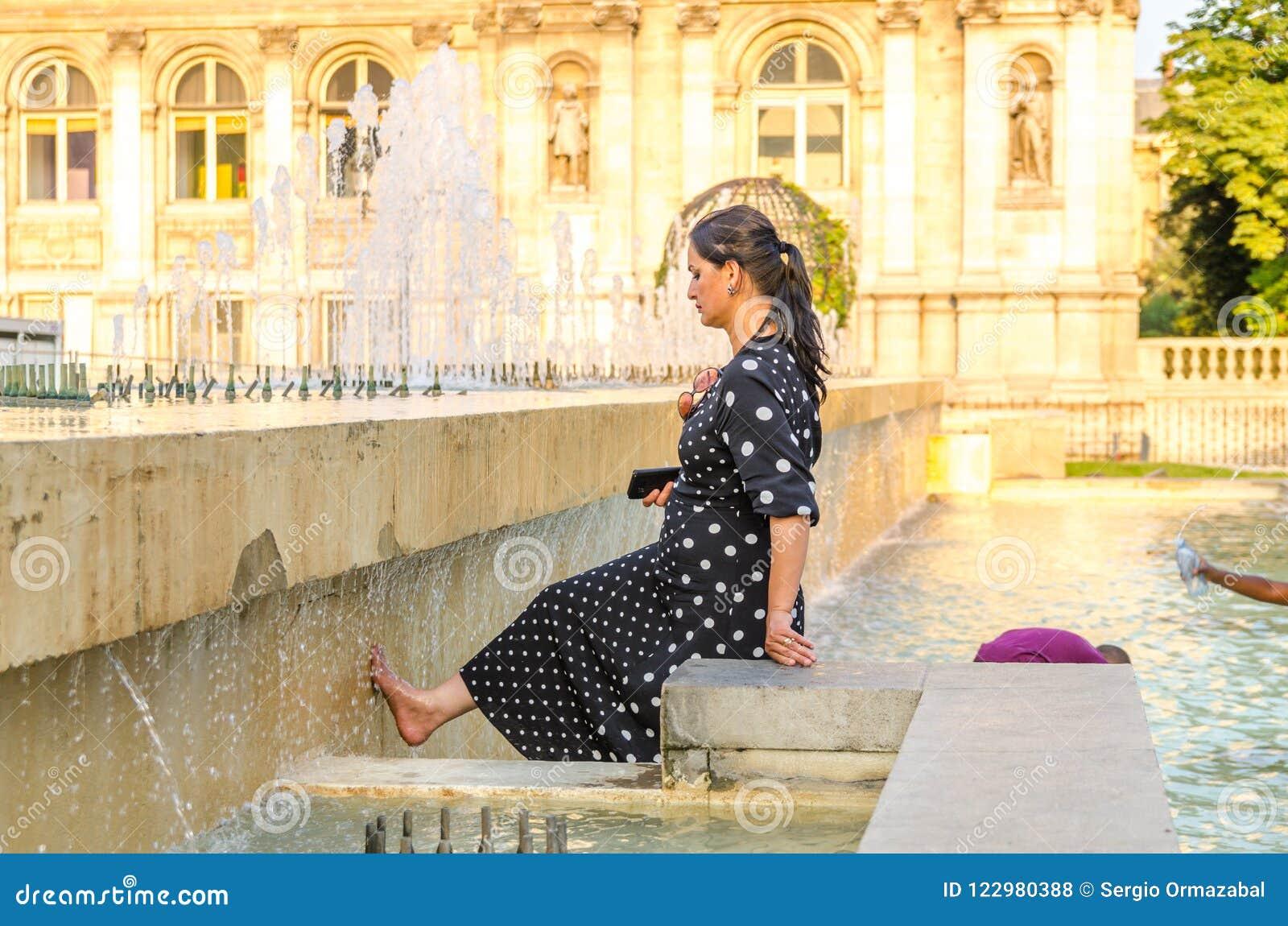 Parijs ziet de hittegolf onder ogen