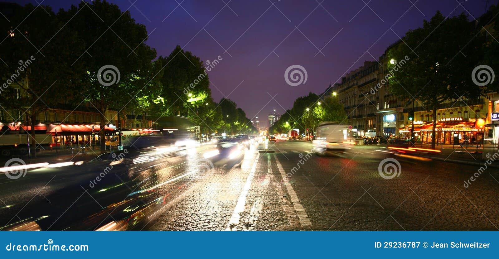 Download Paris fotografia editorial. Imagem de noite, paris, reflexão - 29236787