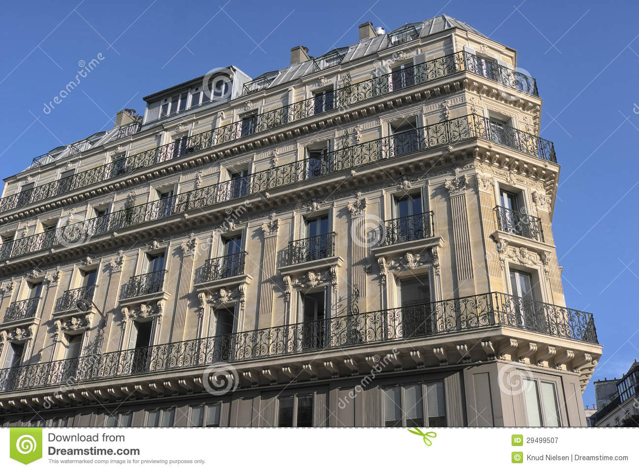 Paris Architecture Royalty Free Stock Photography Image