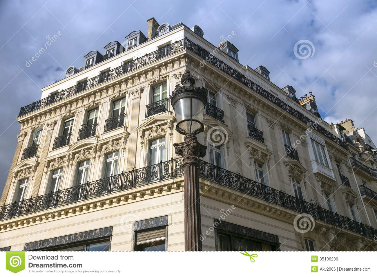 paris in baroque royalty free stock image image 35196206