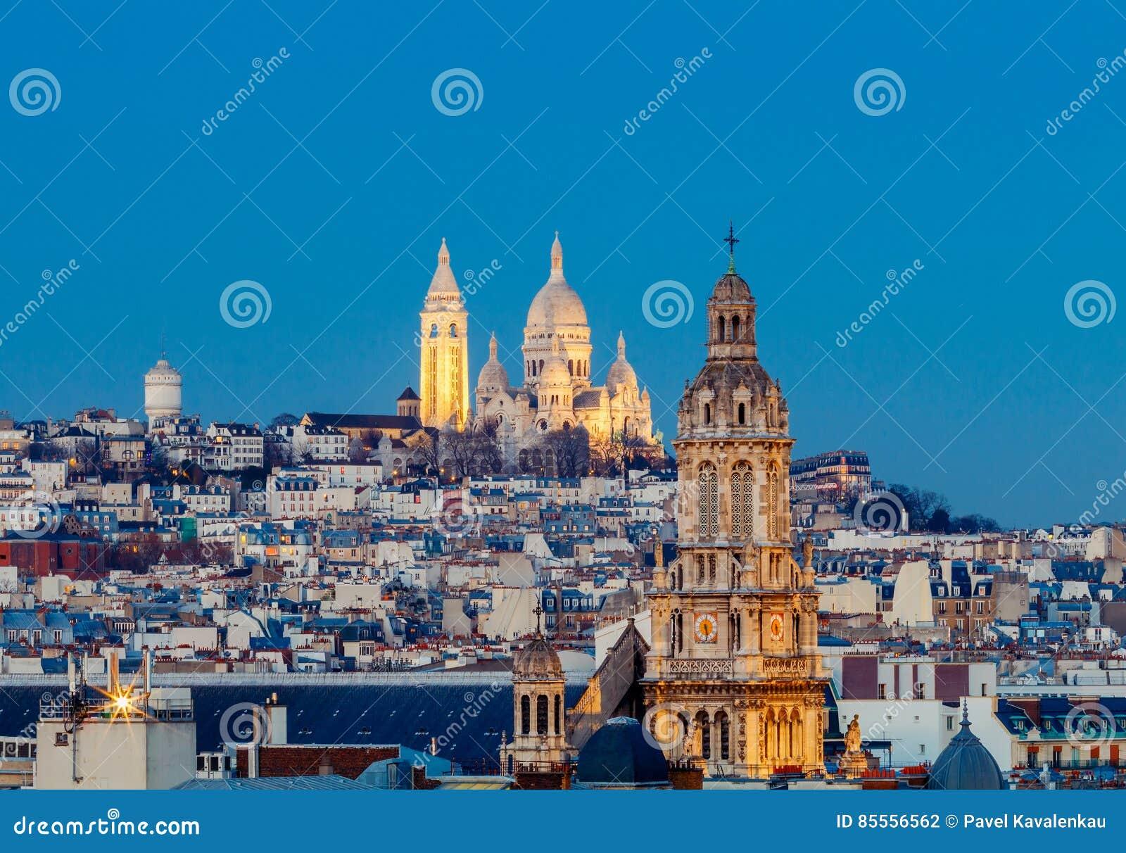 Paris Basílica Sacre Coeur