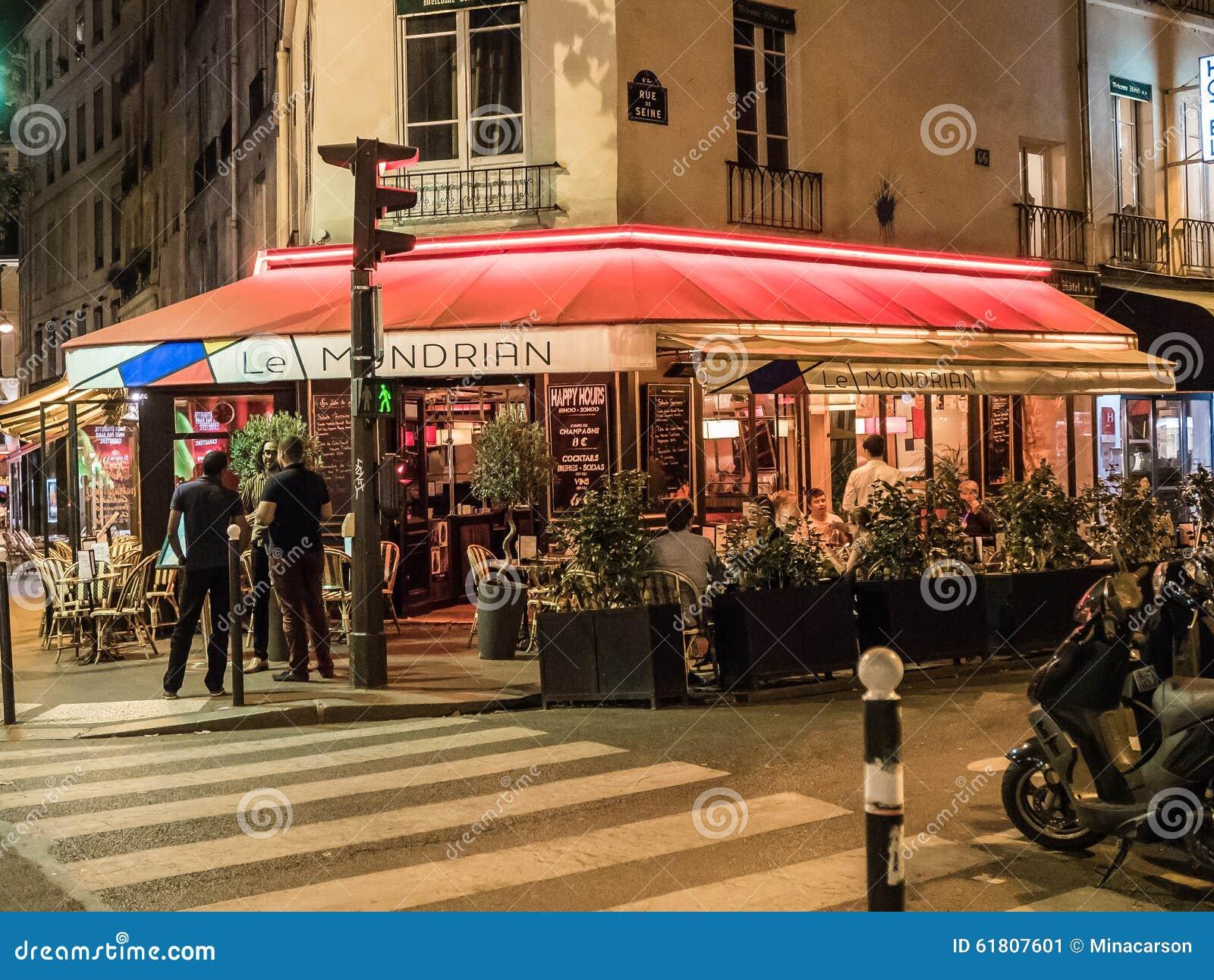Mondrian Cafe Paris