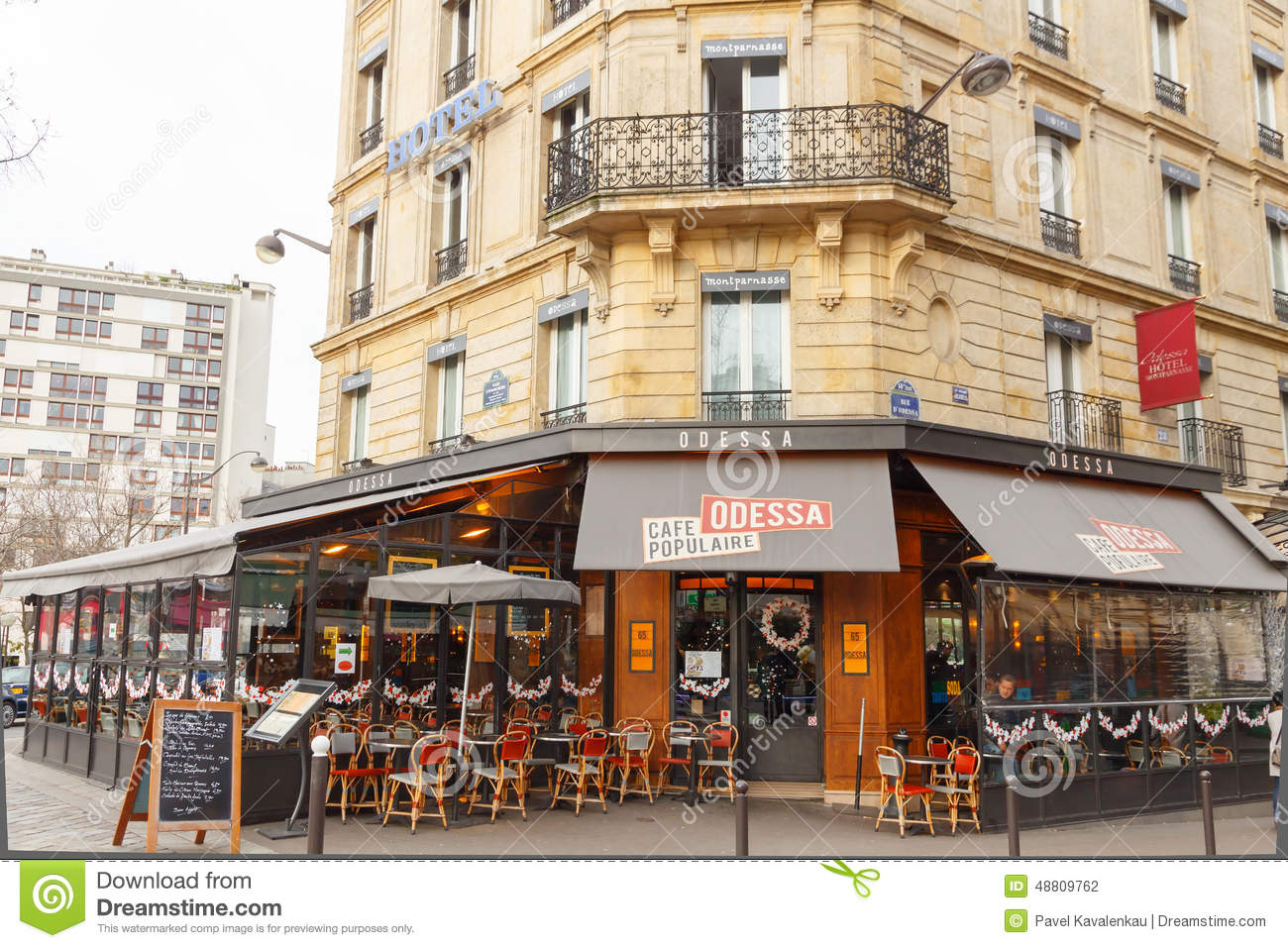 Paris Cafe Odessa Editorial Photography Image Of Traditional 48809762