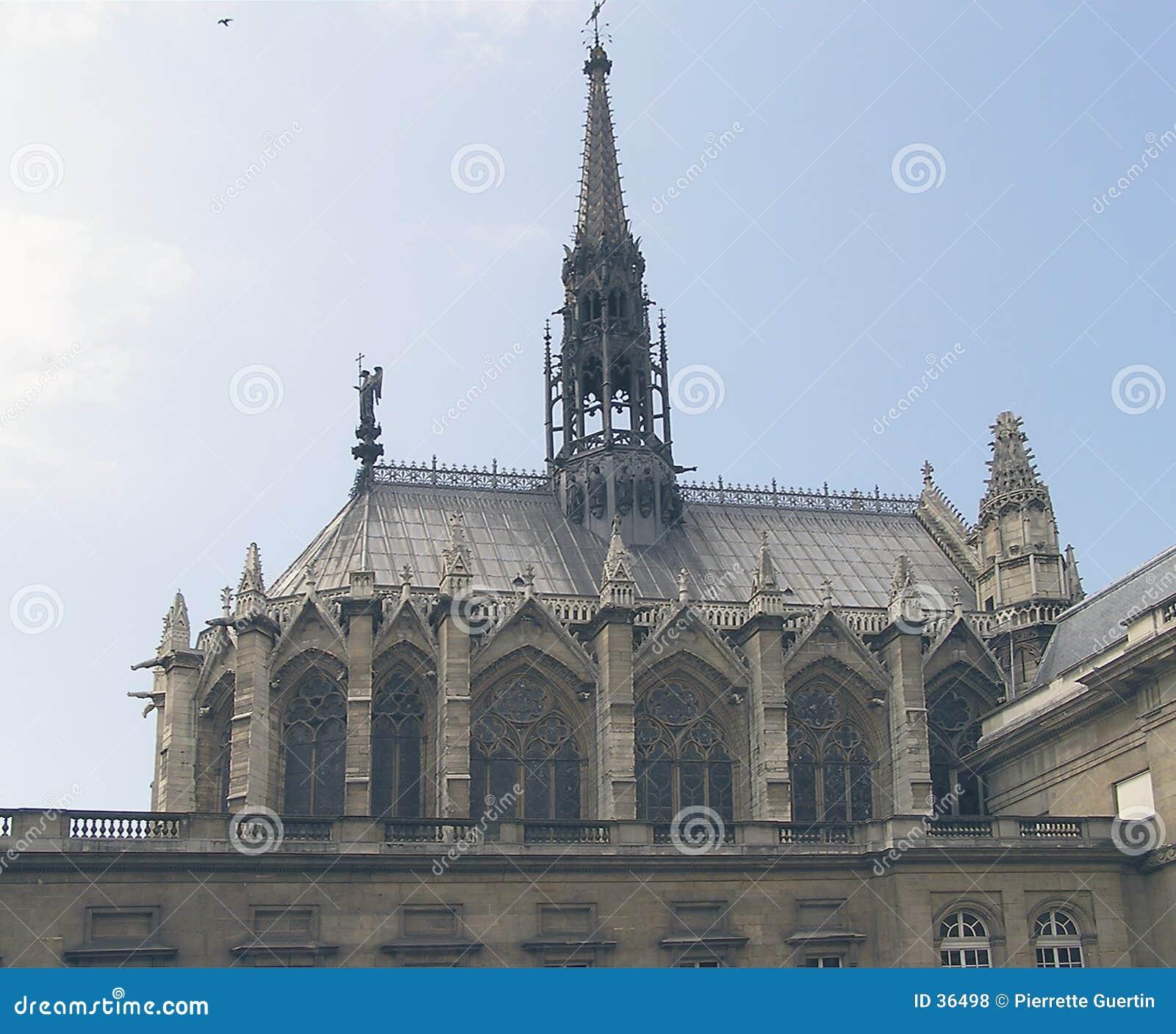 Download Paris chapel kościoła zdjęcie stock. Obraz złożonej z święty - 36498