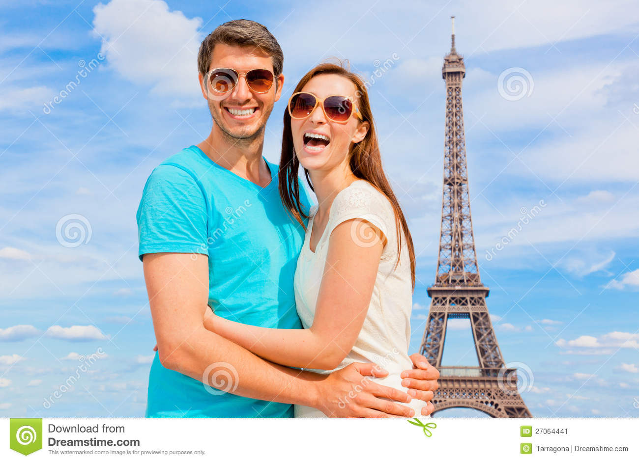 paris couple stock image image of outdoors girl famous 27064441. Black Bedroom Furniture Sets. Home Design Ideas