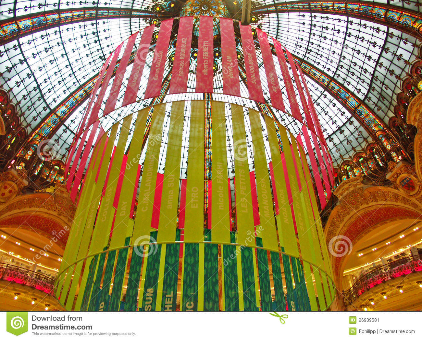 #958312 Paris Décoration De Noël De Galeries Lafayette Photo  5431 décorations de noel galeries lafayette 1300x1065 px @ aertt.com