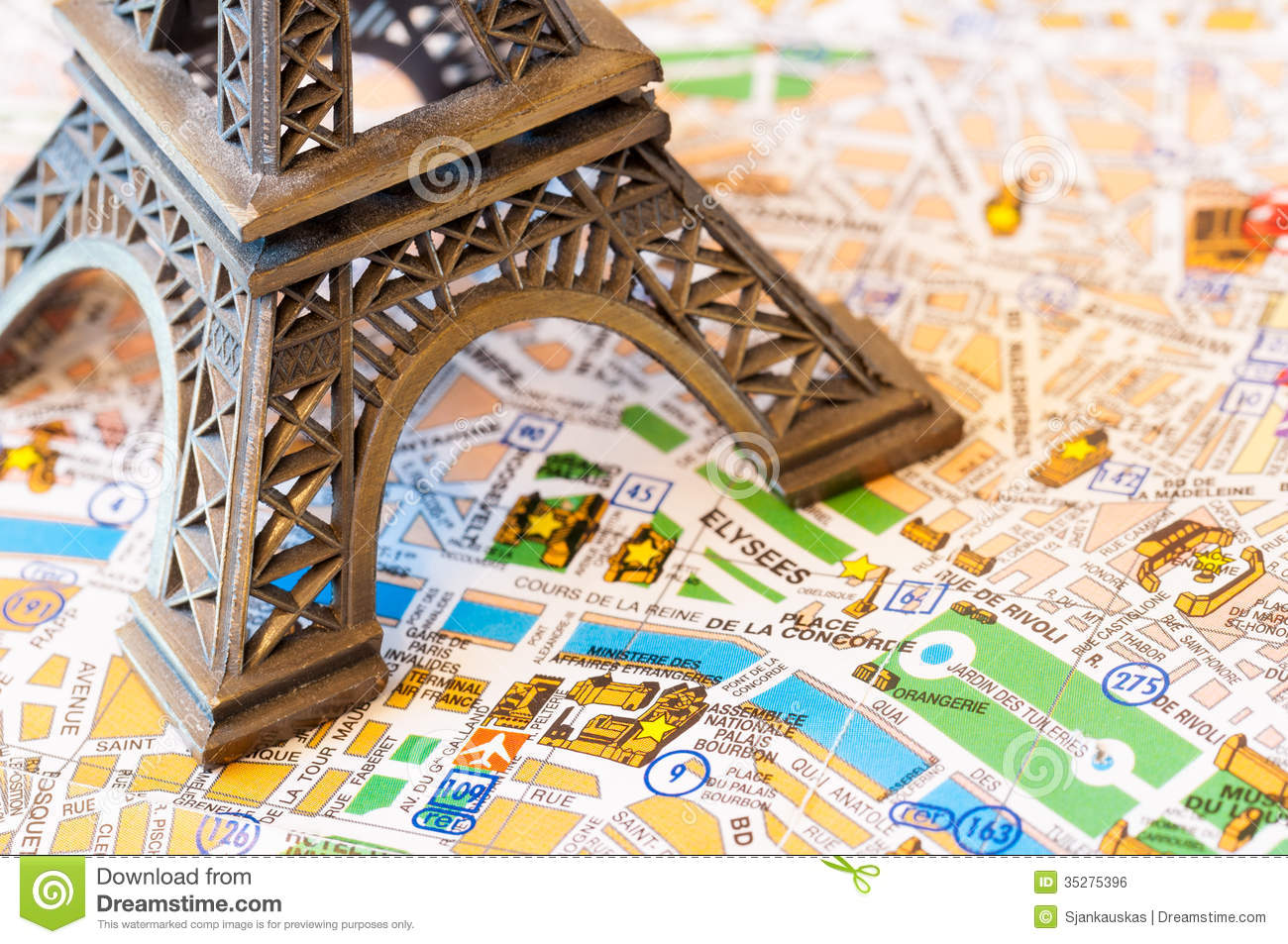 Maps Update 1024641 Free Map of Paris Paris maps Top tourist – Travel Map of Paris