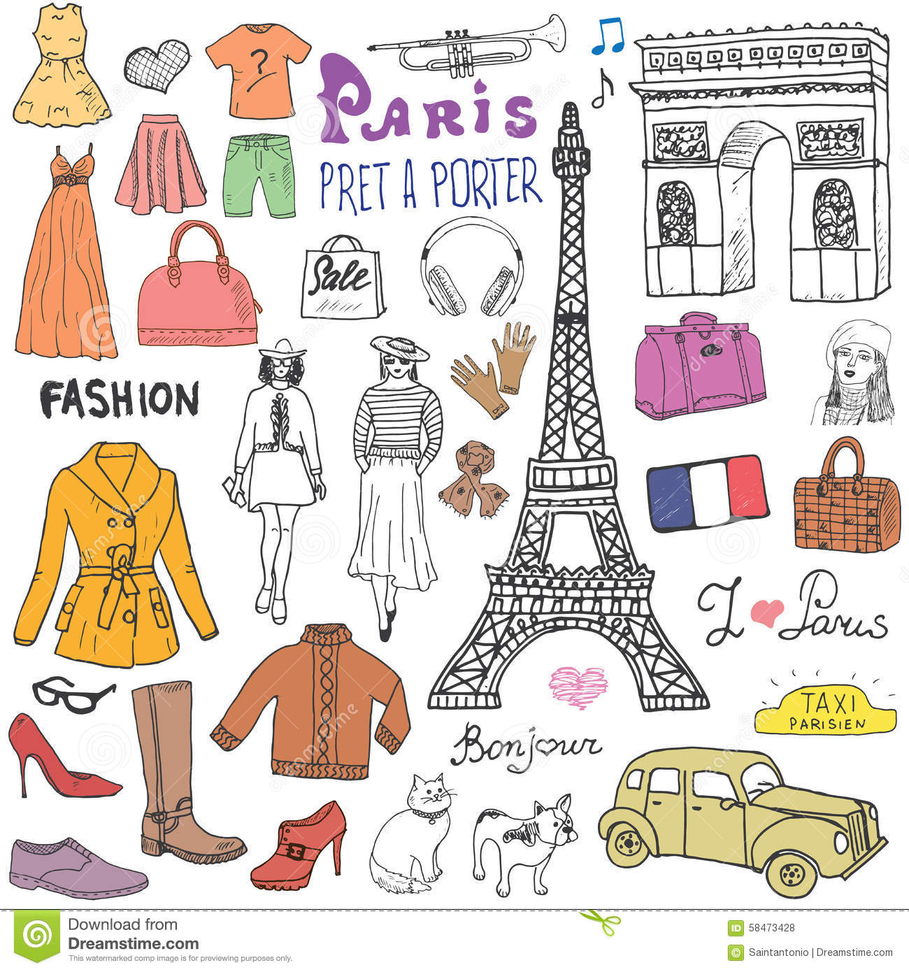 French Word For Fashion Models