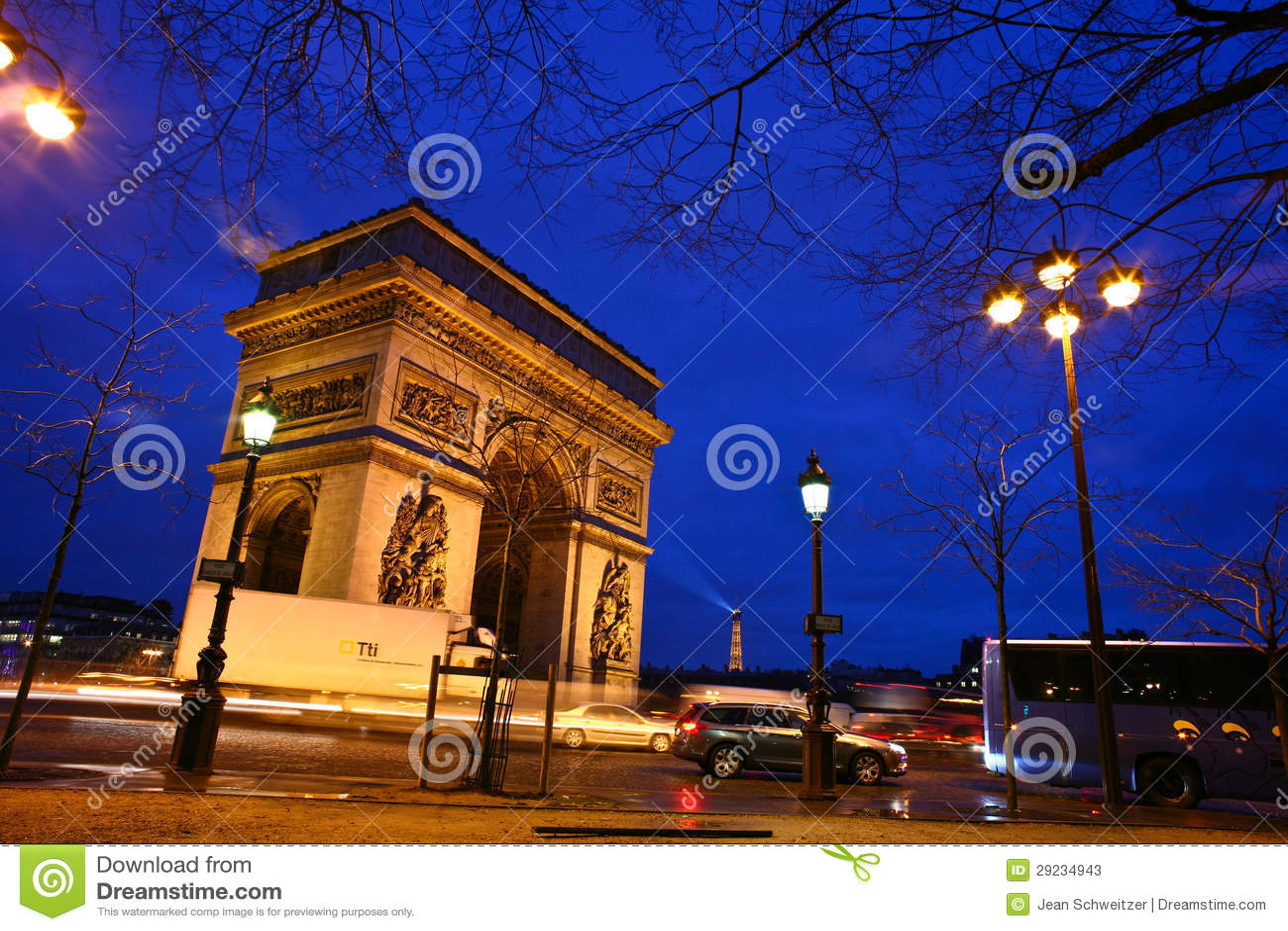 Download Paris etoile foto de stock editorial. Imagem de paris - 29234943
